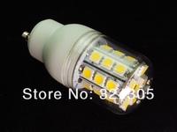 Wholesale 5W  110V led  GU10 30 SMD 5050 LED High Power Light  bedroom light spot lamp Allimium body Long life White/ Warm white
