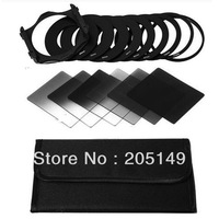 6pcs ND2 ND4 ND8 Gradual ND2 4 8 Filter Set + 9pcs Ring Adapter for Cokin P