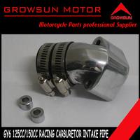 Alloy Racing Carburetor Intake Manifold Pipe Inlet pipe  for GY6 125cc 150cc scooters SUNL,Roketa,NST, Baotian,Keeway,JCL,Taotao