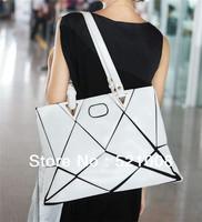 Wholesale - Fashion Lady individual character splicing shoulder bag handbag messenger bag  tote bag