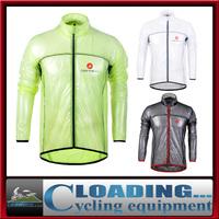 2014 new transparent soft  multifunction bicycle raincoat jersey dust coat cycling bike jacket/rain coat windbreaker waterproof