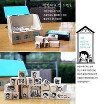 wooden stamp promotion