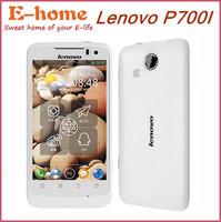 Original Lenovo P700i Phone MTK6577 Android 4.0 2500Mah big battery dual SIM IPS multi-touch 3G WCDMA GPS WIFI White in stock