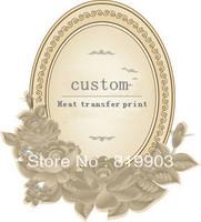 custom service about heat/water  transfer print