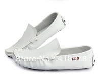 Free shiping 2013 Gommini loafers casual fashion male cowhide sailing boat lounged shoes low-top pedal foot massage wrapping