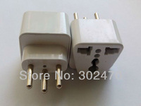 [FREE SHIPPING/EPACKET!] WHOLESALE 10pcs/lot Universal USA UK AUS Euro to Swiss Travel Adapter Switzerland AC Power Plug