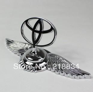 Used For TOYOTA Eagle Stand Mark Car Chrome Logo Hood Ornaments Badge Emblem (1piece)(China (Mainland))