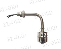 Free shipping Curve Water Level Sensor Liquid Float Switch (stainless steel) 50W