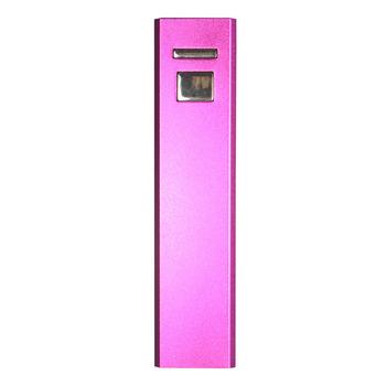 Free shipping 5pcs/lot aluminium alloy 2200mAh Portable Power Bank for iPhone, iPad, mobile phone,MP3, MP4, PSP