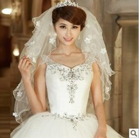 Korean bride veil