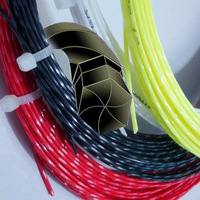 Free shippng Top quality(12m/pcs,10pcs/lot)Tingkin twister/pro Hexaspin twist tennis String/tennis racket/tennis racquet