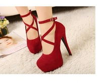 Sapatos Femininos Direct Selling Closed Toe Medium(b,m) Pu Women Shoes Wholesale Low Price 2014 The New Women Pumps Shoes Hasp
