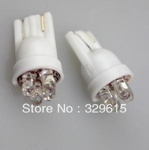 wholesale 500pcs  T10 194 168 W5W 4 LEDs Car inside Auto Led Light Bulbs cool White 12V