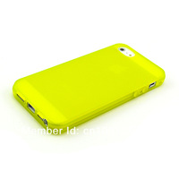 2013 NEW 50pcs/lot Slim Matte frosting Transparent Cover Case For iPhone 5 Wholesale Free Shipping