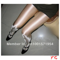 Free Shipping Fashion Sexy Women's Transparent Thin Pantyhose Ladies' Silk Stockings Bright Leggings