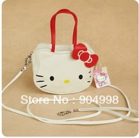 Fashion Hello kitty handbags Cute design Shoulder bag supper Mini size 5pcs/lot Free Shipping