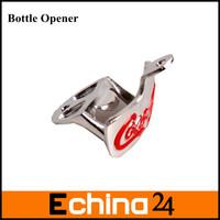 Portable Zinc Alloy Metal Wall Mount Bottle Opener Wall Mounted Bottle Opener Free Shipping