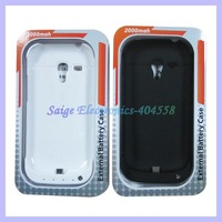 2000mah Battery case charger for Samsung Galaxy S3 mini i8190