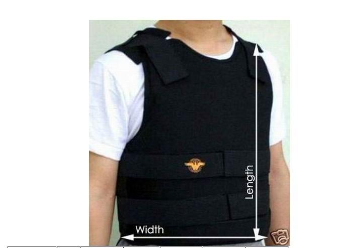 Kevlar Bullet Proof Vest Bulletproof Level IIIA Size M 2013 size M bulletproof vest best quality(China (Mainland))