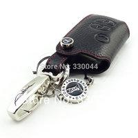Genuine Leather car key case for SUBARU BRZ 2014 Forester ADDAN key fob cover car accessories