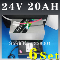 24V 20Ah LiFePO4 Battery + 500W BMS + 6A Charger - FOR E-BIKE Free Shipping
