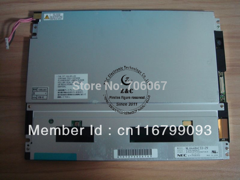 NL6448AC33-29 original 10.4 inch LCD display screen panel(China (Mainland))
