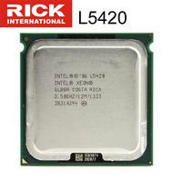 Intel xeon quad-core cpu L5420 2.5g 771 needle 12m 1333 E5420