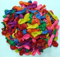 500pcs /lot Free shipping 5 inch latex balloons / target ball / water inflatable / Apple ball / toy small ballon