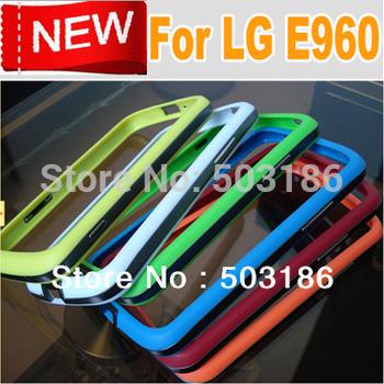 Sale Bumper Case for Google Nexus 4 LG E960 mobilephone case ,Free shipping