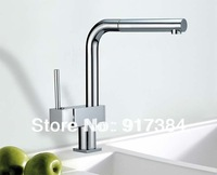 Bathroom Basin & Kitchen Sink Pull Out& Swivel Spray Mixer Tap Chrome Faucet JN8532