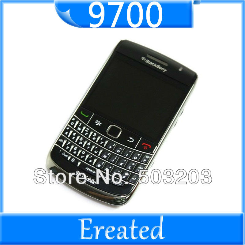 Bold 9700 Unlocked Original Blackberry 9700 Bold Mobile Phone WIFI 3G GPS QWERTY Keyboard handset big free shipping(China (Mainland))