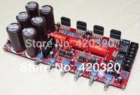 YJ daul AC26V-0-26V 2.1 channel NE5532 + LM3886 amplifier board 2*68W+120W Subwoofer