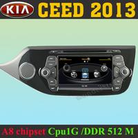 "7"" Car DVD Player autoradio GPS navigation  for  KIA CEED 2013 + 3G WIFI + V-20 Disc + 1GB cpu + DDR 512M RAM + DVR + A8 Chipset"