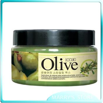Free shipping 100G woman Han Yi olive styling moisturizing pomades & waxed