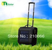 solar bag 6W 10000MAH Solar Bag Solar Travel Suitcase & Travel Bag Equip Solar Panels,Other Digital Product Charging