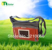 solar bag 1W 1500MAH Solar haversack,provide solar panels suit LED flashlight, Mobile,PSP,digital camera charging free shipping