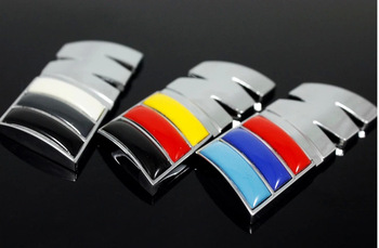 Free shipping (5pieces/lot) Car Trunk Badge Emblem Sticker ABS ///M for BMW car Stickers