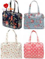 FREE SHIPPING LARGE SIZE mini dot cath zip bag fashion floral shopper bag famous brand cath royal rose women handbag