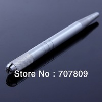 Free shipping 1 pc Professional Permanent Makeup Tattoo Manual Pen for Eyebrow