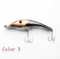 3D Eyes MUSKY PIKE PLASTIC MAGIC MAKER JERK BAIT GLIDER FISHING LURE SHAD 140mm 34g