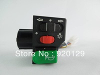 "New 7/8 ""ATV Motorcycle Scooter Offroad Universal Switch Horn Turn Signal On / Off Free Shipping"