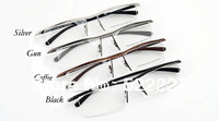 New Fashion Eyeglass Frames Luxury Car Brand Design TR90 P8189 Black/Coffee/Gun/Silver 4 colors Option Free Shipping Wholesale