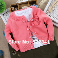 2014 spring autumn infant baby girls cardigan sweaters  kid clothing baby sweaters child sweaters