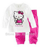 Hot Sell ! baby pajamas children's pajamas kids' sleepingwear sets children nightwear kids clothing sets