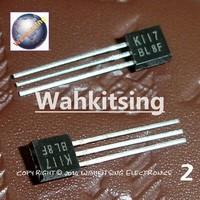 10 PCS 2SK117-BL 2SK117 K117-BL K117 TO-92 LOW NOISE AUDIO AMPLIFIER
