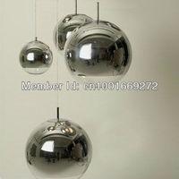 Hot selling 30CM Silver Tom Dixon Mirror Ball pendant lamp  *3pieces