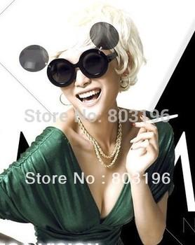 5PCS/Lot  Lovely Antique Funny Sunglasses Fashion Flip Women's Sunglasses Free Shipping