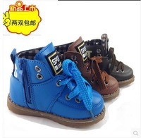 free shipping Autumn and winter children shoes male female child baby shoes single shoes small boots single boots
