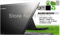 """Free shipping lenovo g470  i3  14"""" 2GB  500GB laptop DVD ROM"""