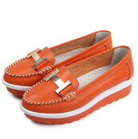 2013 Free Shipping Women's Shoes Genuine Leather Casual Shoes Flats Shoes New Arrival Fashion G1117